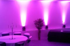illumination murs option mariage